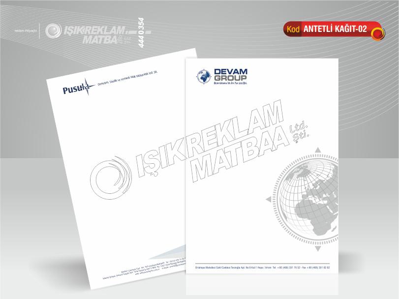 Antetli Kağıt 02