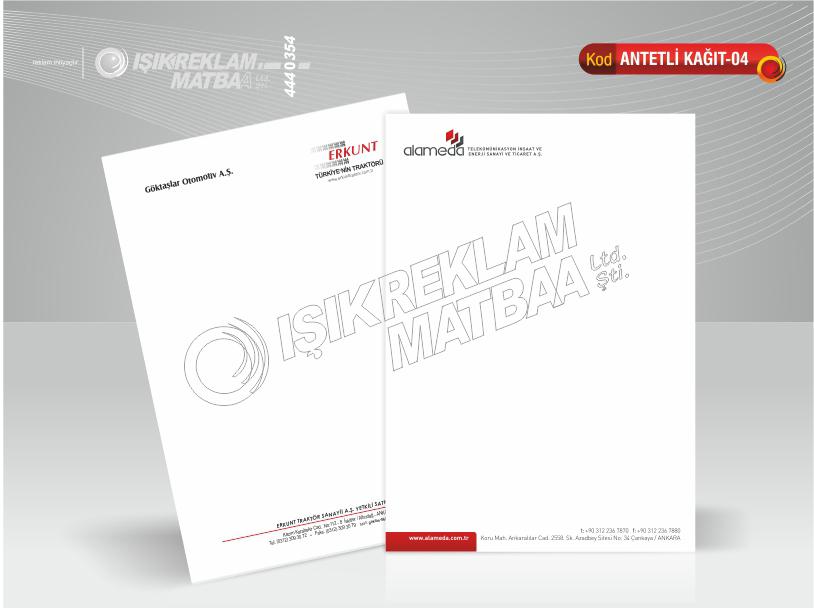 Antetli Kağıt 04